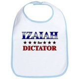 IZAIAH for dictator Bib