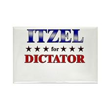 ITZEL for dictator Rectangle Magnet (10 pack)