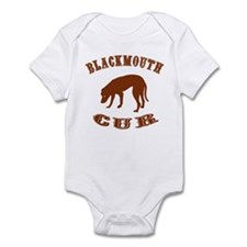 Blackmouth Cur Infant Bodysuit