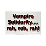 Vampire Solidarity (light) Rectangle Magnet
