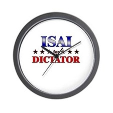 ISAI for dictator Wall Clock