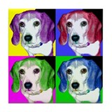 Pop Beagle Tile Coaster