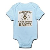 Pawperty of my cane corso dan Onesie