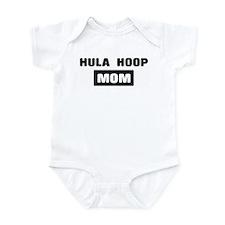 HULA HOOP mom Infant Bodysuit