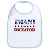 IMANI for dictator Bib