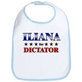 ILIANA for dictator Bib