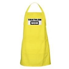 TRIATHLON mom BBQ Apron