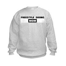 FREESTYLE SKIING mom Sweatshirt