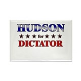 HUDSON for dictator Rectangle Magnet (10 pack)
