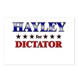 HAYLEY for dictator Postcards (Package of 8)