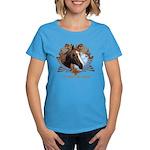 I'd Rather Be Riding Horses Women's Dark T-Shirt