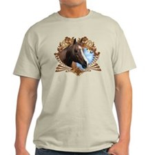 Horse Lover Crest Graphic T-Shirt