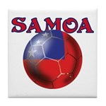 Samoa football team Tile Coaster