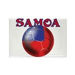 Samoa football team Rectangle Magnet (100 pack)
