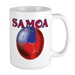 Samoa football team Large Mug