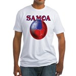 Samoa football team Fitted T-Shirt