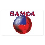 Samoa football team Rectangle Sticker