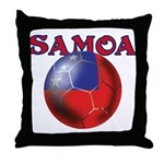 Samoa football team Throw Pillow