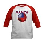 Samoa football team Kids Baseball Jersey