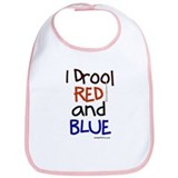 RED and BLUE (NY) Bib
