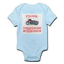 Biker Baby Cry - Grandad Infant Bodysuit