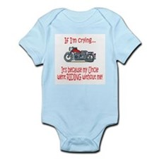 BikerBaby Cry - Uncle Infant Bodysuit