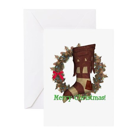 Stocking Christmas Cards (Pk of 10)