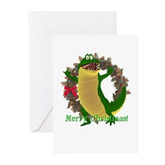 Crawley Croc Christmas Cards (Pk of 10)