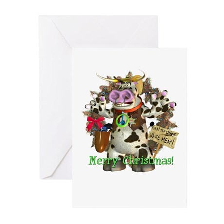 Billy Bull Christmas Cards (Pk of 10)