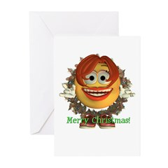 ASL Girl Christmas Cards (Pk of 10)