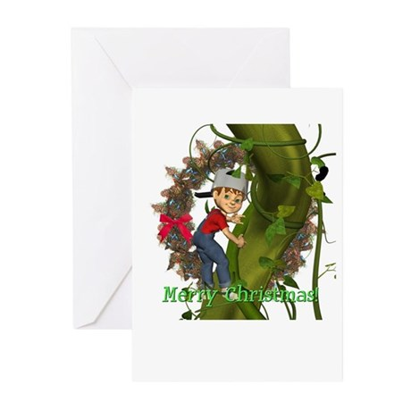 Jack 'N Beanstalk Christmas Cards (Pk of 10)