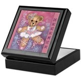 Bear Ballerina Keepsake Box