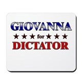 GIOVANNA for dictator Mousepad