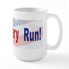 run_hilary_run-v2 Mugs