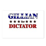 GILLIAN for dictator Postcards (Package of 8)