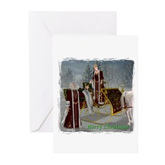 Mr. 'N Mrs. Claus Christmas Cards (Pk of 10)