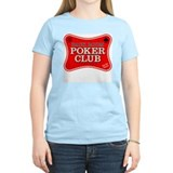 Back Room Poker Club Women's Pink T-Shirt