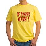 Fish On! Yellow T-Shirt