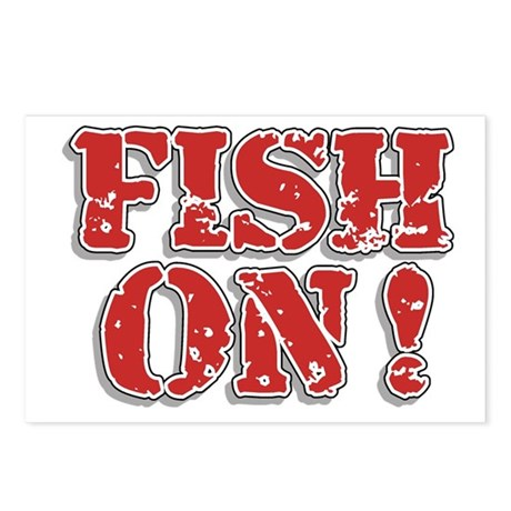 Fish On! Postcards (Package of 8)