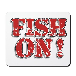 Fish On! Mousepad