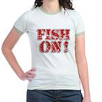 Fish On! Jr. Ringer T-Shirt