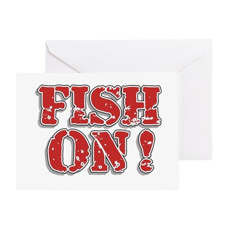 Fish On! Greeting Card