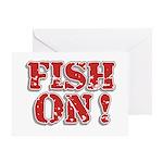 Fish On! Greeting Card