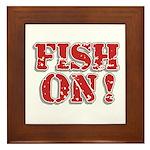 Fish On! Framed Tile