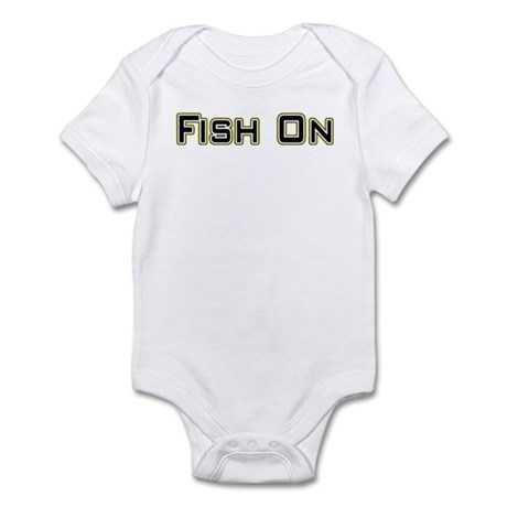 Fish On (2) Infant Bodysuit