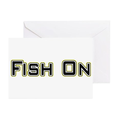 Fish On (2) Greeting Cards (Pk of 10)