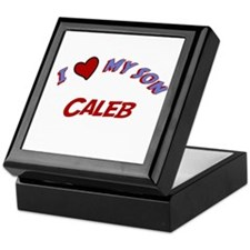 I Love My Son Caleb Keepsake Box