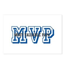 MVP-MOST VALUABLE PAPA Postcards (Package of 8)