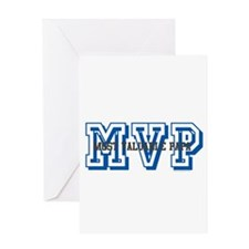MVP-MOST VALUABLE PAPA Greeting Card