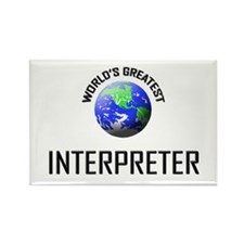 World's Greatest INTERPRETER Rectangle Magnet